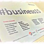 Social Media in Unternehmen: Enthusiasmus, Echtzeit, Engagement! #business15